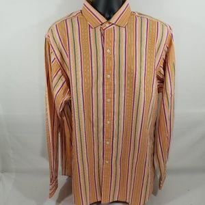 Polo Ralph Lauren Button Down long Sleeve Orange